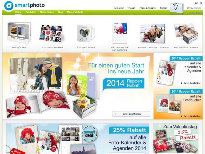 Smartphoto.ch Online Shop