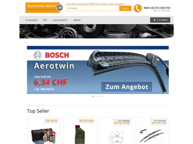 Autoteile-meile.ch Online Shop