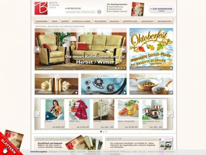 Brigitte-st-gallen.ch Online Shop