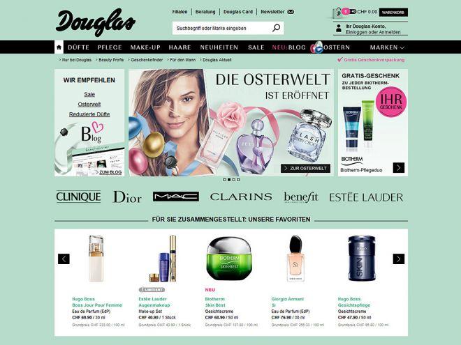 Douglas.ch Online Shop