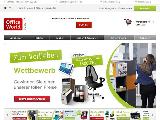 OfficeWorld.ch