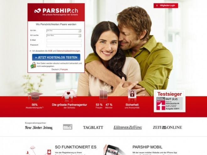 Parship.ch Online Shop