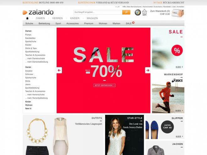 Zalando.ch Online Shop